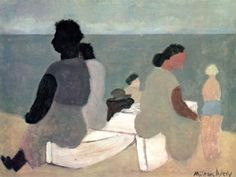 """Sitters by the Sea"" Milton Avery, 1933"