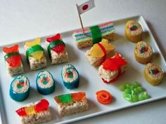 Lynn Schadler- I found your candy sushi minus the chocolate!! :) Make away!