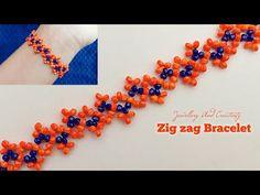 Bead Jewellery, Jewelry, Bracelet Tutorial, Beading Tutorials, Diy Tutorial, Seed Beads, Blankets, The Creator, Beaded Bracelets