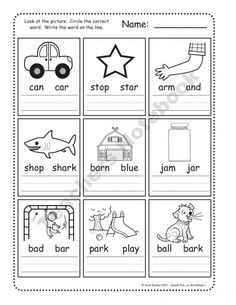 19 Best phonic worksheets images in 2019 | Reading Comprehension ...