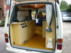 Homemade Camper Van Interiors | Toyota Hiace Camper