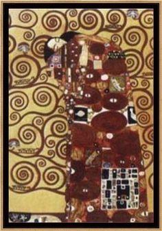 Enmarcado flotante, El Abrazo (G. Klimt) - Gustav Klimt