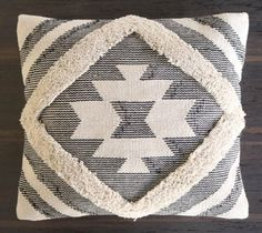 Aztec Pattern Cushion, Geometric Pillow Cover, Diamond Grey and White Cushion with Fringing Cushions For Sale, Boho Cushions, Geometric Cushions, Luxury Cushions, Geometric Pillow, Pillows, Geometric Patterns, Decorative Cushions, Throw Pillow Cases