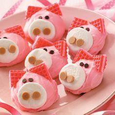 So cute .....Pig Cookies