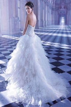 Illisa by Demetrios gown