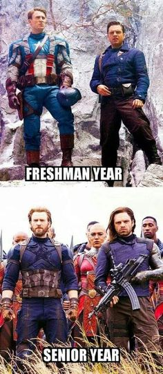 I go to a middle school that holds you for four years and I'm in my last year … - Marvel Fan Arts and Memes Avengers Humor, Funny Marvel Memes, Dc Memes, Marvel Jokes, True Memes, Memes Humor, Marvel Dc Comics, Marvel Avengers, Marvel Heroes