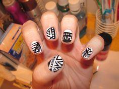 Nail Designs Aztec ...