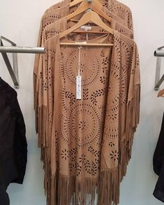 Nothing says modern luxe like laser cut! Cover up in style with this new addition to Fleurt Boutique :)