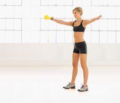 Get a Sexy Back: One-Arm Swing #SelfMagazine #UpperBodyWorkouts