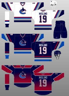 Vancouver Canucks 2001-03 - A new alternate jersey is introduced 4313f41f1
