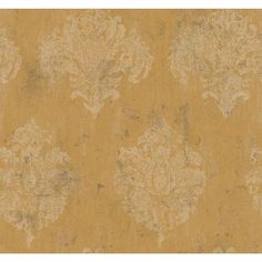 Inspired By Color Gold Metallic Chateaux Wallpaper York Wallcoverings Wallpaper Wall
