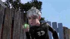 "Danny Phantom / Jack Frost  OH MY GOSH!!!! I was just watching Danny Phantom with my brother and I started freeking out and hyperventilating during the theme song and my brother was confused and I was like ""this was my childhood""."