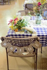 bride banner seating sign