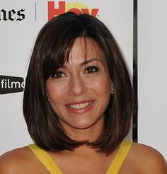 Marisol Nichols Bob  Marisol showed off her chic bob and blunt cut bangs while attending the Latino Film Festival.