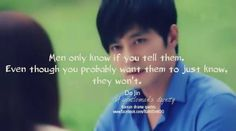 a gentleman's dignity. Kim Do Jin do u always have good quotes