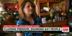 """Christian Florist Says She'd Deny Service to Gay People, but Not Adulterers, Because It's a """"Different Kind of Sin"""""""