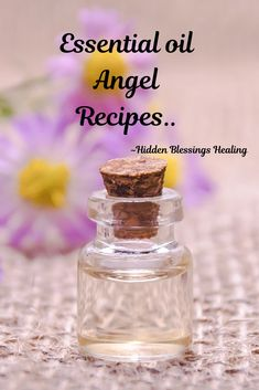A custom essential oil recipe. from the angels. Angel Healing, Oil Recipe, Food Combining, A Food, Essential Oils, Angels, Perfume Bottles, Recipes, Angel