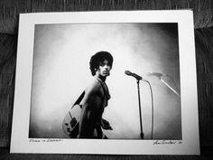 PRINCE 11 X 14 Print SIGNED by legendary photographer LENI SINCLAIR  Dreamtraveler247, $50.00