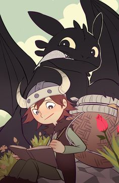 HOW TO TRAIN YOUR DRAGON by kyutover on DeviantArt