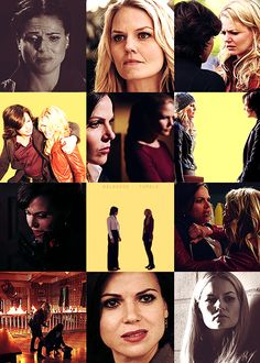 OUAT- Emma and Regina. Swan Queen!!!!