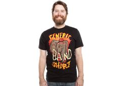 Generic Crazy Band T-Shirt - http://www.theshirtlist.com/generic-crazy-band-t-shirt/