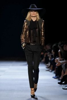 Saint Laurent Ready To Wear Spring Summer 2013