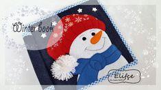 МК снеговик. Free pattern snowmen for quitebook 20x20sm