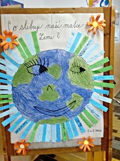 Tvoříme s dětmi  ☺: Ještě jeden Den Země Earth Day, Jar, Montessori, Frame, Green, Picture Frame, Jars, A Frame, Frames