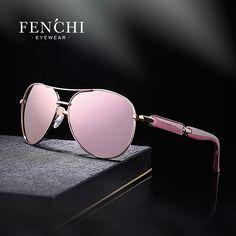 ae6b095692b  24.15 - Nice Fenchi 2017 sunglasses women metal hot rays glasses driver  pilot mirror fashion men