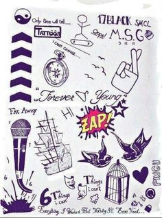 One direction tatoos