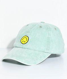 23e1f02ba65f A-Lab Upside Down Smile Face Strapback Hat