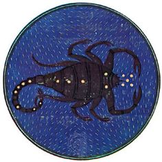Scorpius, illumination from a Book of Hours, Italian, c. 1475; in the Pierpont Morgan Library, New York City (MS. G.14)