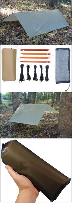 Protect yourself from wind, rain, and snow with the CELS ultralight tarp shelter system from 5col Survival Supply.