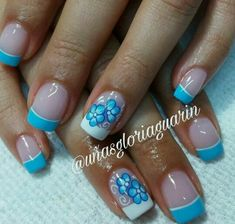 Super manicure pedicure colors french tips 58 Ideas Pedicure Colors, Pedicure Designs, Pedicure Nail Art, Toe Nail Designs, Nail Colors, Pedicure Ideas, Pedicure Spa, Flower Nail Designs, Flower Nail Art