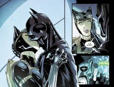 """""""I'm sorry."""" Injustice Gods Among Us.Batman and Catwoman"""