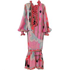 1stdibs | Pucci hostess gown 1960s