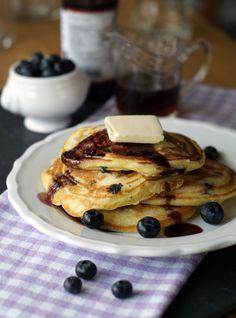 Buttermilk Pancakes (Buttermilch-Pfannkuchen)