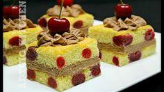 Prajitura cu cirese si crema cu cacao | Adygio Kitchen
