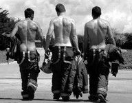 """I guess this one should be """"they do it for me...""""  Firemen.  God love them!"""