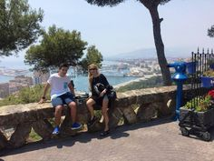 Magnifico Segway tour por Malaga con Rita y Ezequiel