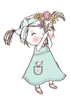 Illustration Mignonne, Cute Illustration, Character Illustration, Art Fantaisiste, Art Mignon, Baby Art, Cute Cartoon Wallpapers, Whimsical Art, Nursery Art