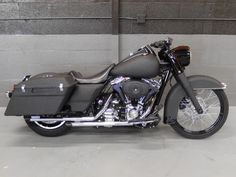 V-Twin City - 2012 HARLEY-DAVIDSON FLHP ROAD KING POLICE - Black Rhino coated by Line X