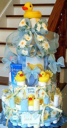 Bathtime fun-shower or baby bday gift, perfect for baby shower theme.