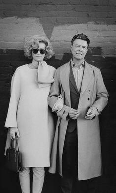 David Bowie as Tilda Swinton. Tilda Swinton as David Bowie. by Jeff Cronenweth Tilda Swinton, David Bowie, Anthony Kiedis, Freddie Mercury, Duncan Jones, Photo Star, Diane Arbus, Ziggy Stardust, Glam Rock