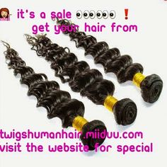 Twigs Virgin Hair now has bundle deals on their body wave, straight and loose wave Brazilian Hair!  12,14,16... $175.00 14,16,18... $185.00 16,18,20... $200.00 18,20,22... $215.00 20,22,24... $225.00 22,24,26... $250.00 24,26,28... $275.00 26,28,30... $290.00  Package deals are listed under Brazilian Body wave and is good for straight, body wave, and loose wave.   ❗Place your texture in the message box if ordering straight or loose wave. Website will be completely updated within the next