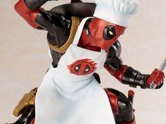 Marvel Universe ArtFX + Deadpool (Cook) Statue #transformer