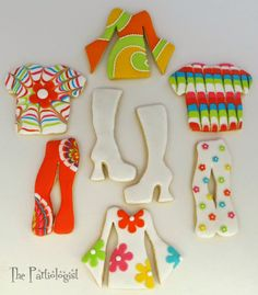 The Partiologist: 70's Theme Cookies!