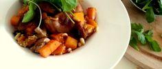 Quinoa-risotto met pompoen en zoete aardappel