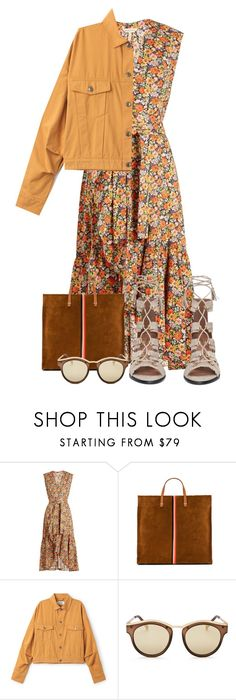 """""""Fall Dresses"""" by pure-vnom ❤ liked on Polyvore featuring Rebecca Taylor, Clare V., Le Specs and BCBGMAXAZRIA"""