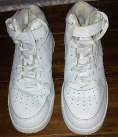 reputable site 6ca7b ec098 Nike Air Airforce 1 White 2009 High top Size 11 Sneakers Shoes #Nike  #BasketballShoes